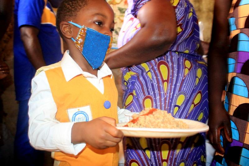 Pasti serviti in Ghana