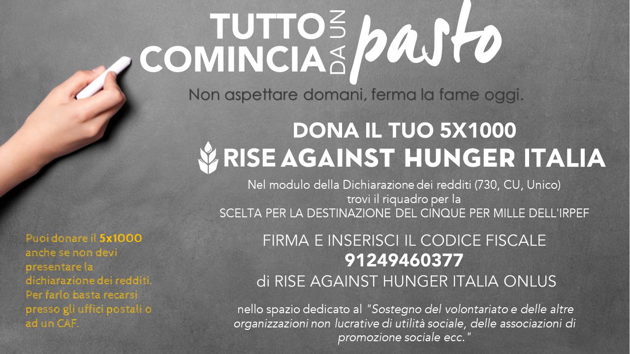 5x1000 Rise Against Hunger Italia